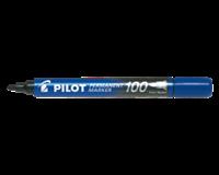 pilot Viltstift  SCA-100-B rond 1mm blauw