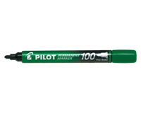 pilot Viltstift  SCA-100-B rond 1mm groen