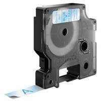 DYMO S0720510 / 45011 tape blauw op transparant 12mm (origineel)