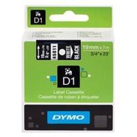 DYMO S0720910 / 45811 tape wit op zwart 19mm (origineel)