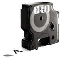 DYMO S0718070 / 16960 tape zwart op wit 19mm (origineel)