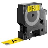 DYMO S0720880 / 45808 tape zwart op geel 19mm (origineel)
