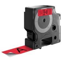 DYMO S0720970 / 53717 tape zwart op rood 24mm (origineel)
