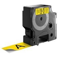 DYMO S0720980 / 53718 tape zwart op geel 24mm (origineel)