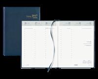 brepols Agenda 2018 Timing 13 maanden 1talig 7 dag/ 2 pagina blauw