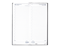 brepols Agenda 2020  Saturnus lang 1dag/1pagina blauw