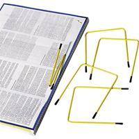 Atlanta Archiefbinder Clip Pli-fix geel