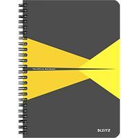 LEITZ® Office notitieboek A5, spiraalgebonden met PP kaft, geruit