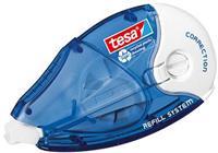 TESA On & Off Correctieroller  ecoLogo 8.4mmx14m navulbaar in hangdoosje