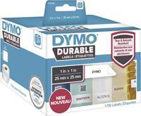 DYMO Etiketten (rol) 25 x 25 mm Polypropileen folie Wit 1700 stuks Permanent 1933083 Universele etiketten, Adresetiketten