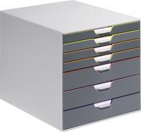 Durable Ladenbox  Varicolor 7 laden grijs