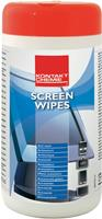 CRC Kontakt Chemie 31980-AA Screen Wipes-reinigingsdoekjes Inhoud: 1 pack
