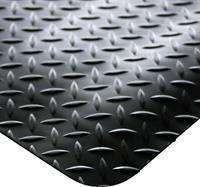 COBA Europe DP010007C Werkruimtemat Deckplate zwart (Stukgoed) 1 m