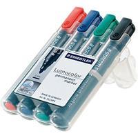 Staedtler Set van 4 Permanent Marker Stiften