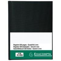 Exacompta Register 29,7x21cm geruit 5x5 - genummerd - 500 blad (415E)