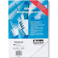 GBC Voorblad  A4 chromo karton 250gr blauw 100stuks