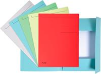 Exacompta dossiermap Foldyne ft 24 x 32 cm (voor ft A4), geassorteerde kleuren, pak van 10 stuks