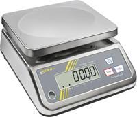 Kern Tafelweegschaal Weegbereik (max.) 1.500 kg Resolutie 0.5 g werkt op stekkernetvoeding Meedere kleuren Kalibratie mogelijk DAkkS