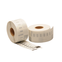 Dymo 99012 compatible labels, verwijderbaar, 89mm x 36mm, 260 etiketten, blanco