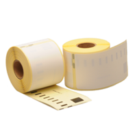 Dymo 99014 compatible labels, verwijderbaar, 101mm x 54mm, 220 etiketten, blanco