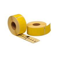 Dymo 99010 compatible labels, 89mm x 28mm, 260 etiketten, geel