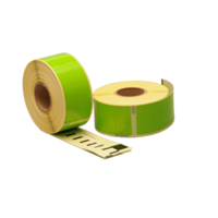 Seiko SLP-1GLB compatible labels, 89mm x 28mm, 260 etiketten, groen