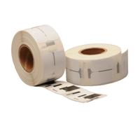 Dymo 11353 / S0722530 compatible labels, verwijderbaar, 25mm x 13mm, 1.000 etiketten, blanco