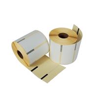 Star labels compatible TSP700-800, 76mm x 38mm, 810 etiketten, blanco