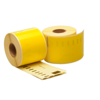 Dymo 99014 compatible labels, 101mm x 54mm, 220 etiketten, geel