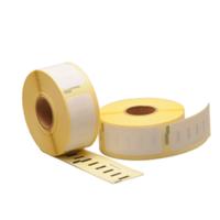 Dymo 11352 compatible labels, verwijderbaar, 54mm x 25mm, 500 etiketten, blanco