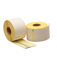 Dymo 11356 compatible labels, 89mm x 41mm, 300 etiketten, blanco