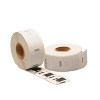 Dymo S0929120 compatible labels, verwijderbaar, 25mm x 25mm, 750 etiketten, blanco