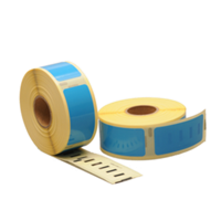 Dymo 11352 compatible labels, 54mm x 25mm, 500 etiketten, blauw