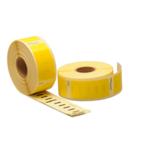 Dymo 11352 compatible labels, 54mm x 25mm, 500 etiketten, geel