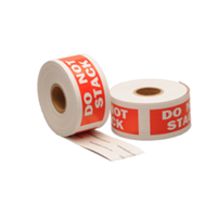 Do not stack label, 101,6mm x 38,1mm, 300 etiketten, permanent