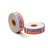 "Etiket ""Handle with care"", 25,4mm x 76,2mm, 500 etiketten, permanente"