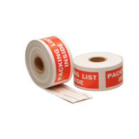 Packing list inside label, 101,6mm x 38,1mm, 300 etiketten, permanent