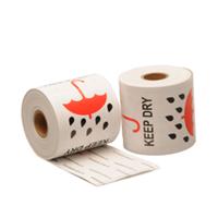 Keep dry label, 76,2mm x 101,6mm, 300 etiketten, permanent