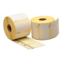 Dymo 11354 / S0722540 compatible labels, verwijderbaar, 57mm x 32mm, 1.000 etiketten, blanco