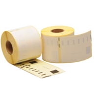 Dymo 99015 compatible labels, verwijderbaar, 70mm x 54mm, 320 etiketten, blanco