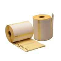 Dymo S0947420 compatible labels, verwijderbaar, 102mm x 59mm, 575 etiketten, blanco