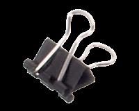 maul Papierklem  213 Foldback 16mm capaciteit 5mm zwart