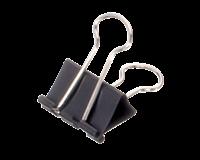 maul Papierklem  215 Foldback 25mm capaciteit 9mm zwart