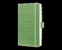 sigel SI-JN112 Notitieboek Jolie Flair A6 Hardcover Gelinieerd Groen
