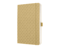 sigel notitieboek  Jolie Flair A5 hardcover gelinieerd Zandbruin