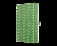sigel notitieboek  Jolie Flair A5 hardcover gelinieerd groen