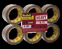 scotch Verpakkingstape  Heavy 50mmx66m bruin 6 rollen