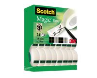 scotch Plakband  Magic 810 19mmx33m 20+4 gratis