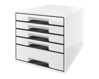 leitz Ladenbox  5 laden zwart