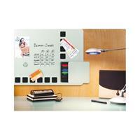 rexel Whiteboard Duobord  61x39cm zilver magnetisch